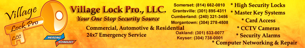 Security Systems, Burglar Alarm, Card Access, Locksmith, Master Key Systems, CCTV Cameras, High Security Locks